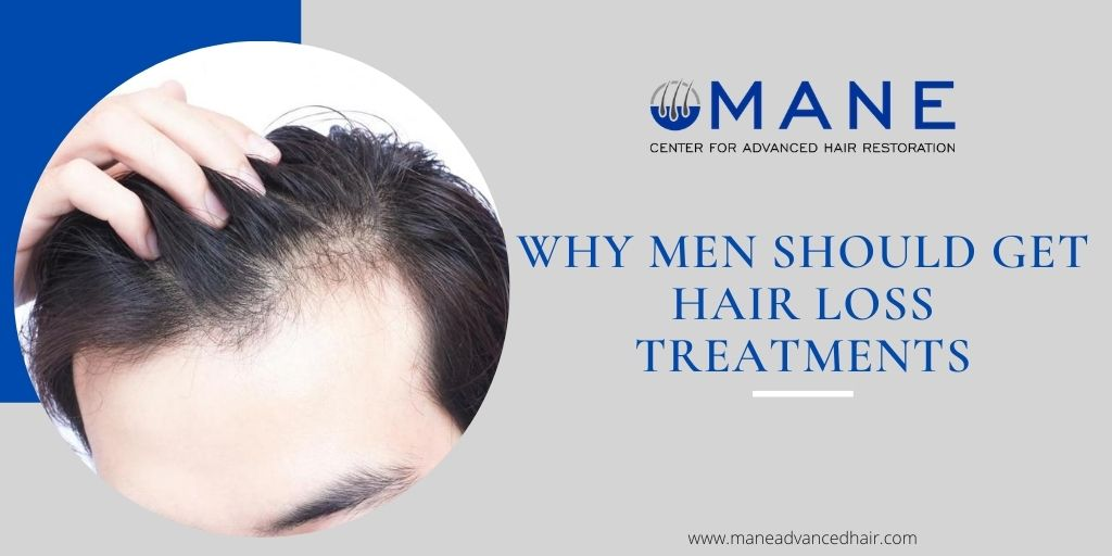 Why Men Should Get Hair Loss Treatments